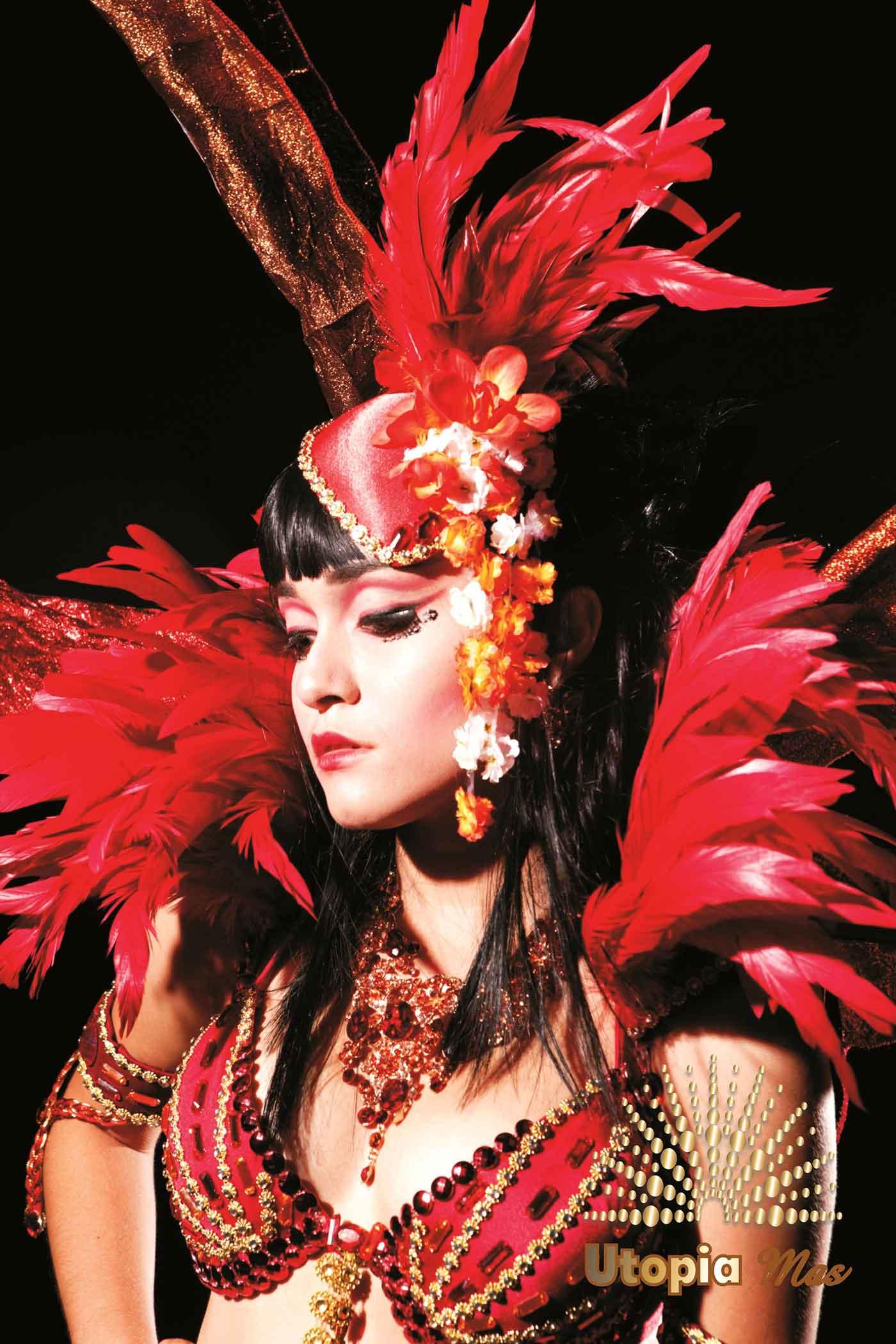 Utopia Mas Costumes 2014 Carifrique Trinidad Carnival