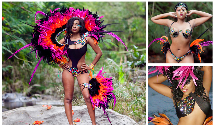 Bacch Jamaica 2017 Costumes Carifrique Trinidad Carnival Tours トリニダード トバゴカーニバルのツアー